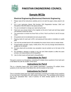 Electronic Engineering MCQs