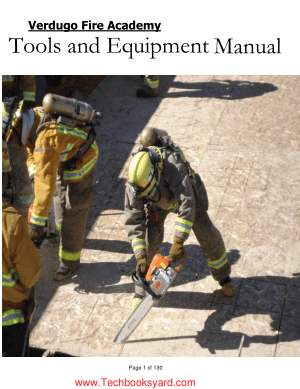 Tools and Equipment Manual