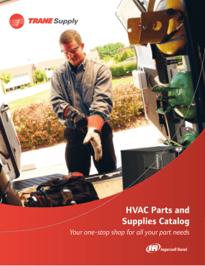 Trane Supply HVAC Parts and Supplies Catalog