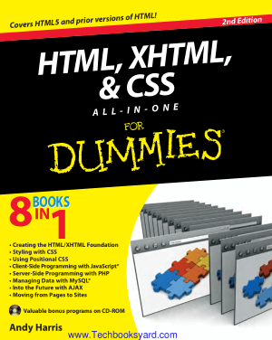 HTML XHTML and CSS all in one for Dummies 2nd Edition