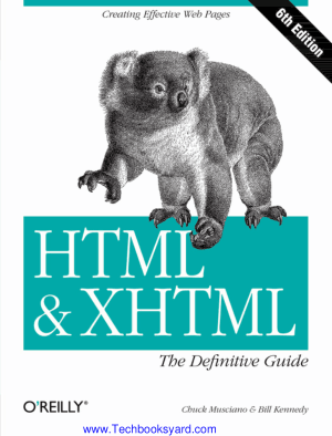 HTML and XHTML The Definitive Guide Sixth Edition