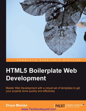 HTML5 Boilerplate Web Development by D Manian