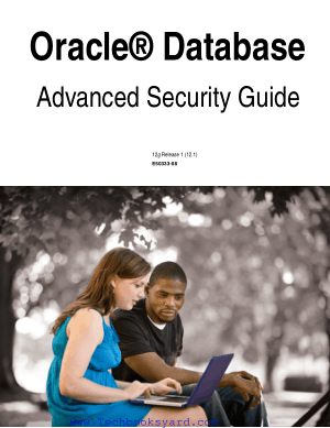 Oracle Database Advanced Security Guide