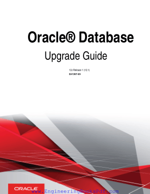 Oracle Database Upgrade Guide