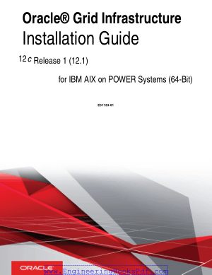 Oracle Grid Infrastructure Installation Guide For Ibm Aix On Power Systems