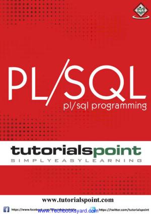 PLSQL Programming