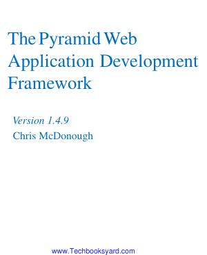 The Pyramid Web Application Development Framework Version-1.4.9
