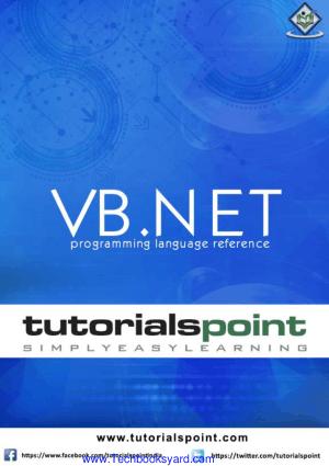 VB.Net Tutorial Programming Language Reference
