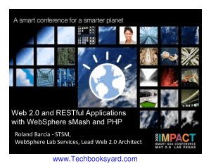Web 2 0 REST WebSphere sMash PHP