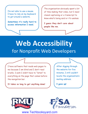 Web Accessibility for Nonprofit Web Developers