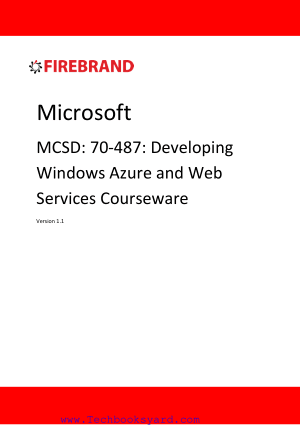 Web Applications Certification Windows Azure Web Services