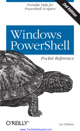 Windows Powershell Pocket Reference 2nd Edition