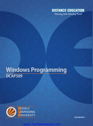 Windows Programming DCAP509