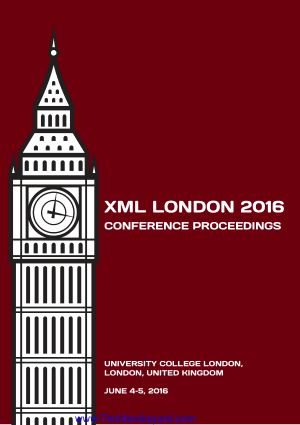 XML London 2016 Conference Proceedings
