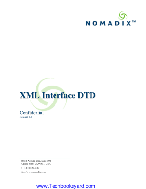 XML Interface DTD