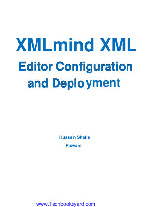 XMLmind XML Editor Configuration and Deployment