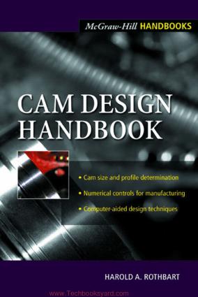 CAM Design Handbook By Harold A Rothbart