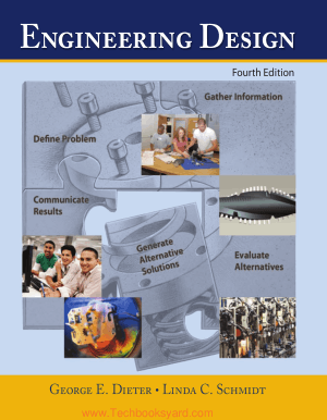 Engineering Design Fourth Edition By George E Dieter