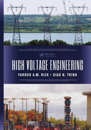 High Voltage Engineering By Farouk A M Rizk and Giao N Trinh