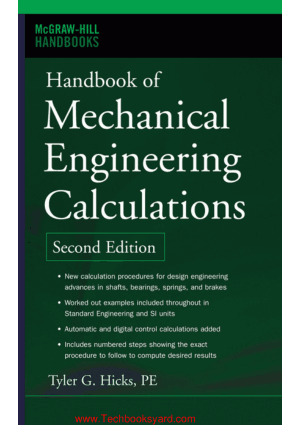 by Tyler G. Hicks Handbook of Mechanical Engineering Second Edition