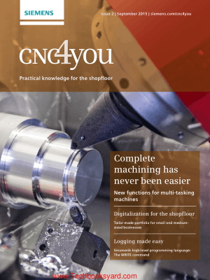 CNC4you Practical Knowledge for the Shopfloor