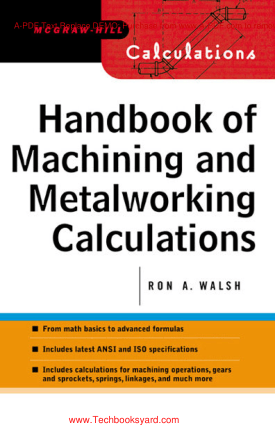 Handbook of Machining and Metalworking Calculations