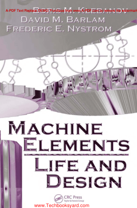 Machine Elements Life and Design By Boris M.Klebanov