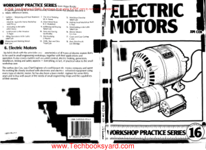 Workshop Practice Series 16 Electric Motors