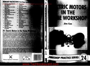 Workshop Practice Series 24 Electric Motors in the Home Workshop