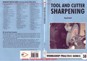 Workshop practice series 38 Tool Cutter Sharpening